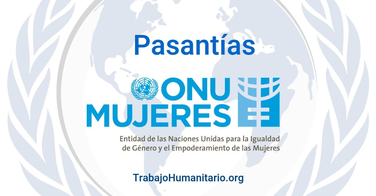 Pasantías & prácticas con ONU MUJERES