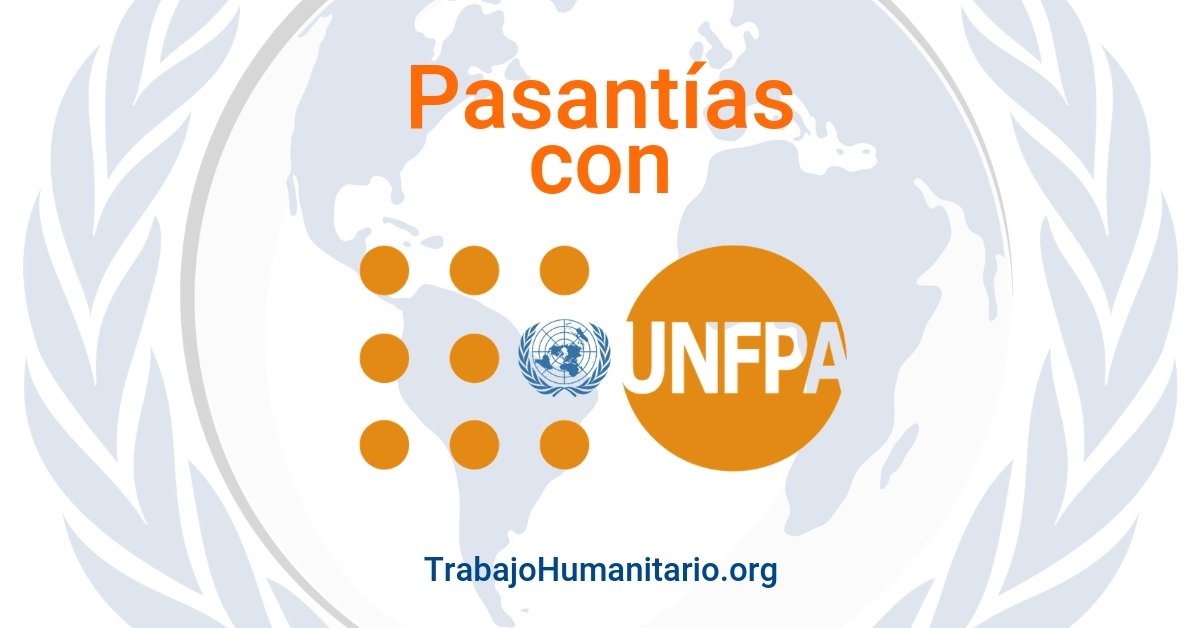 Pasantías con UNFPA en Género y Salud Sexual y Reproductiva