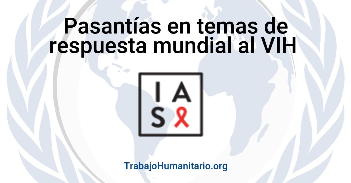 Pasantías con la Sociedad Internacional de VIH
