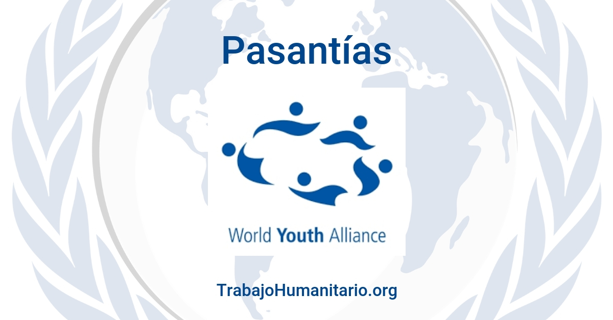 Pasantías con World Youth Alliance