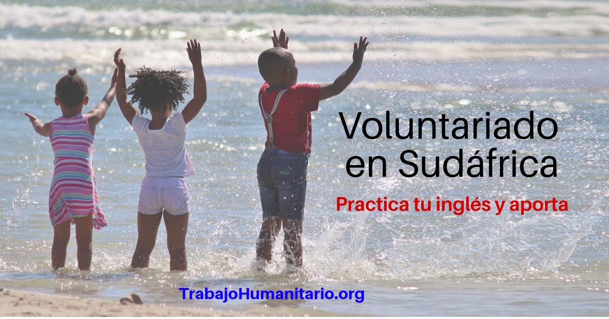 Voluntariado en Sudáfrica, practica tu inglés y aporta