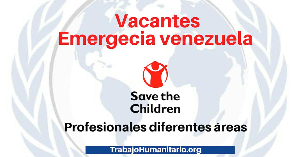 Vacantes con Save The Children