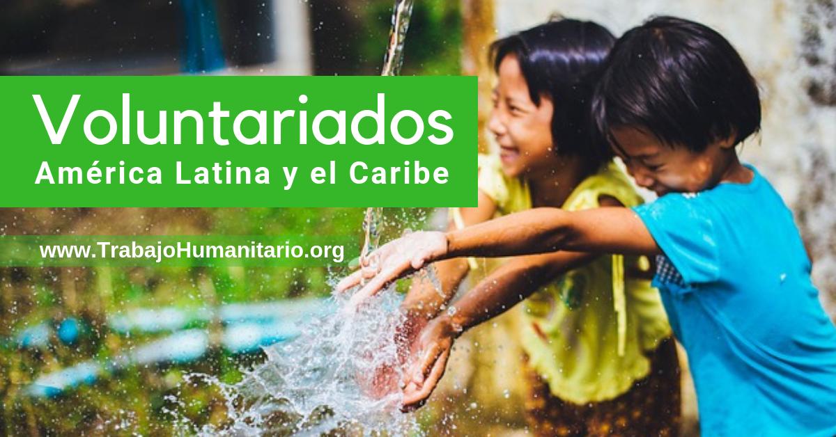 Se buscan voluntarios en Latinoamérica y el caribe