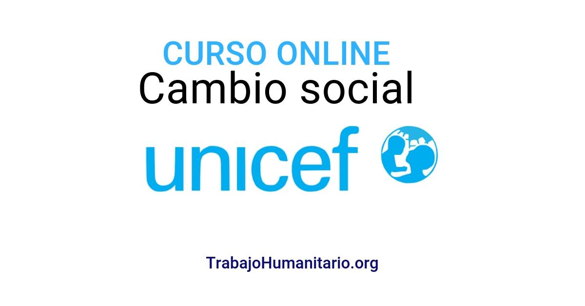 Curso online y gratuito con UNICEF