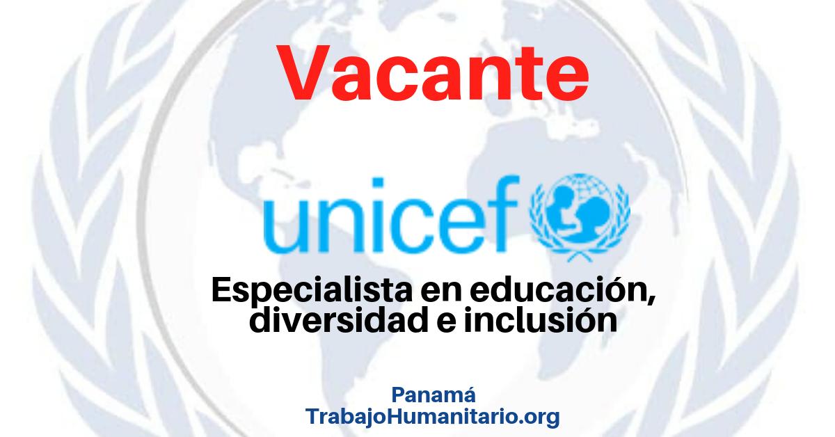 Vacantes con UNICEF