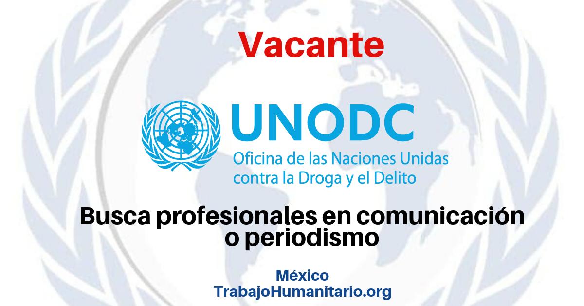 Vincúlate a la UNODC