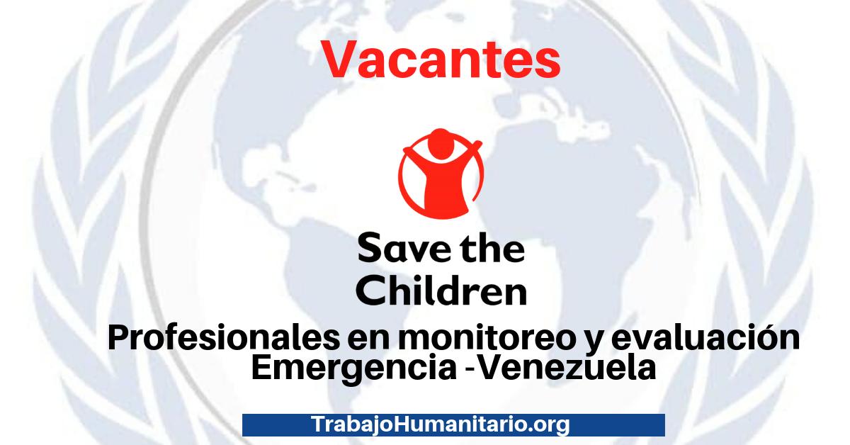 Trabaja en Save the Children