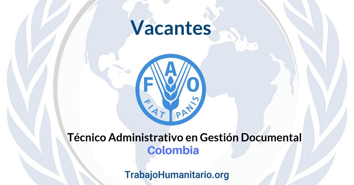 Vacantes con la FAO