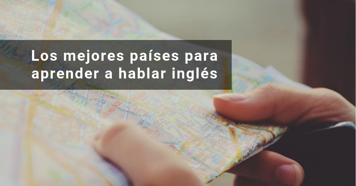 Los mejores países para aprender a hablar inglés