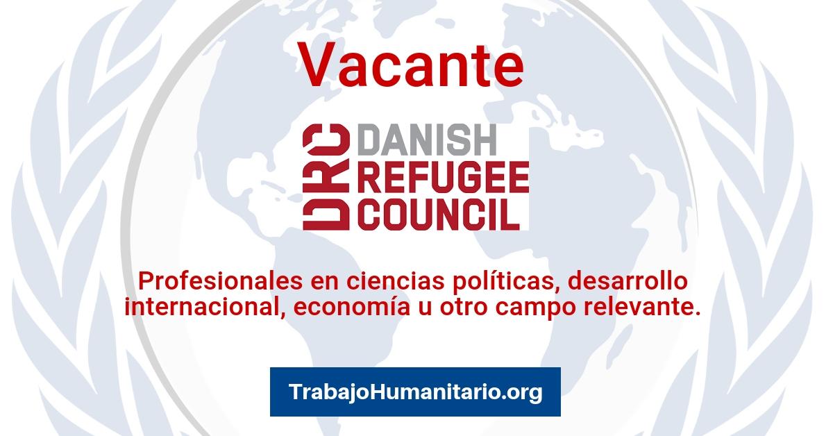 Vacantes con Danish Refugee Council