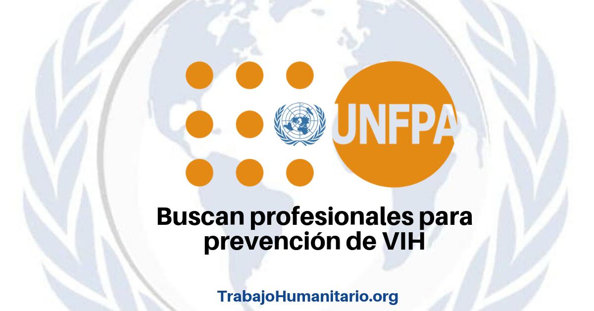 Vacante con UNFPA