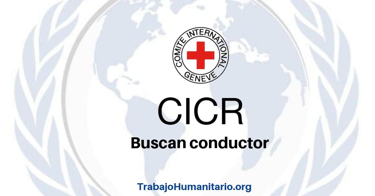 CICR busca conductor 31 de enero
