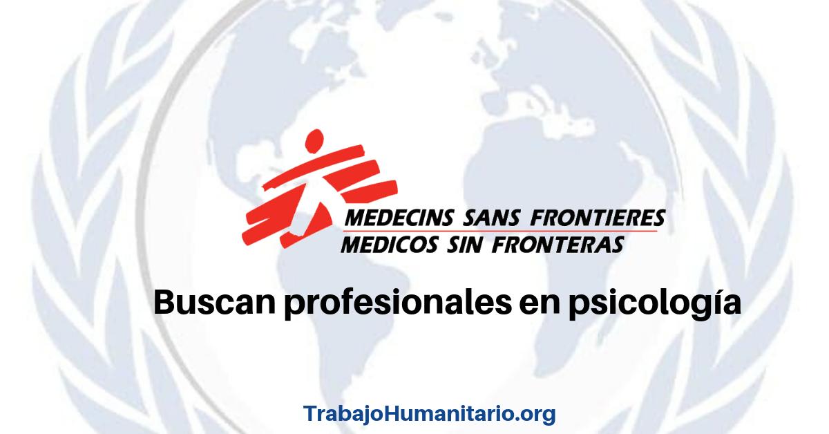 Vacantes en MSF