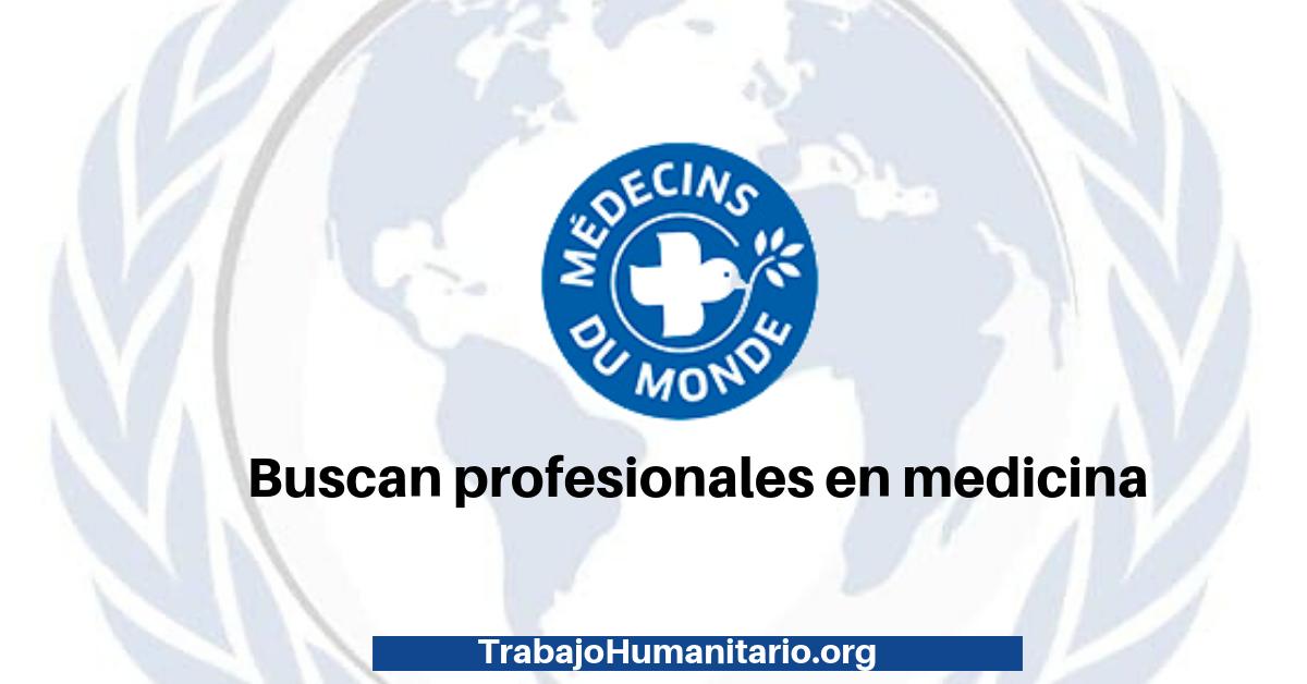 Vacantes con Médicos del Mundo