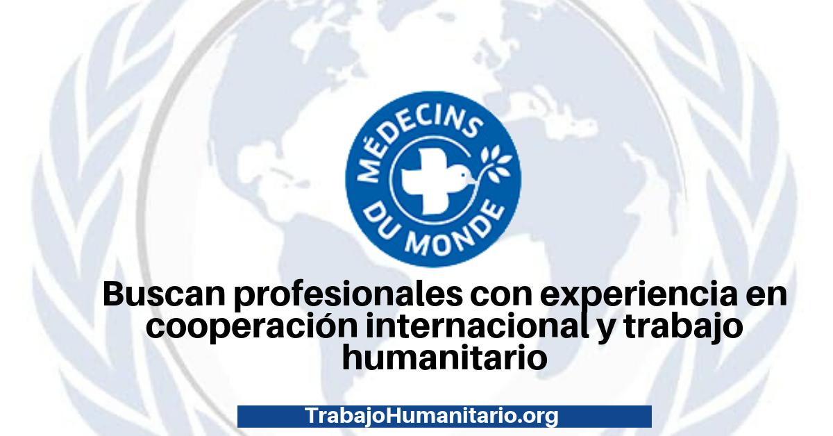 Trabajo con Médicos del Mundo