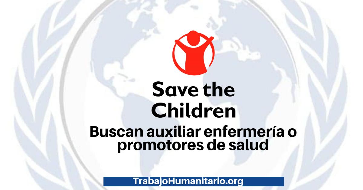 Trabaja con Save The Children