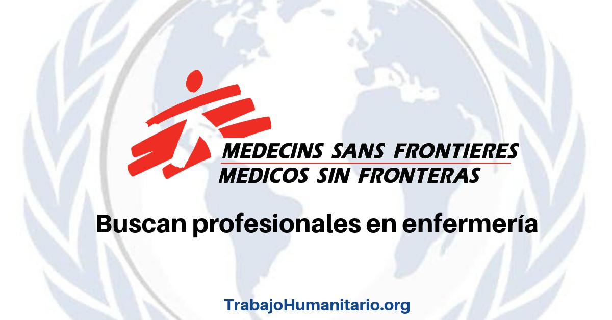 Si hay trabajo con MSF
