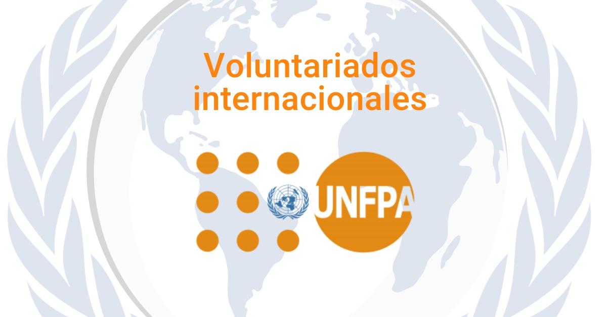 Voluntariados con UNFPA (Fondo de Poblaciones de la ONU)