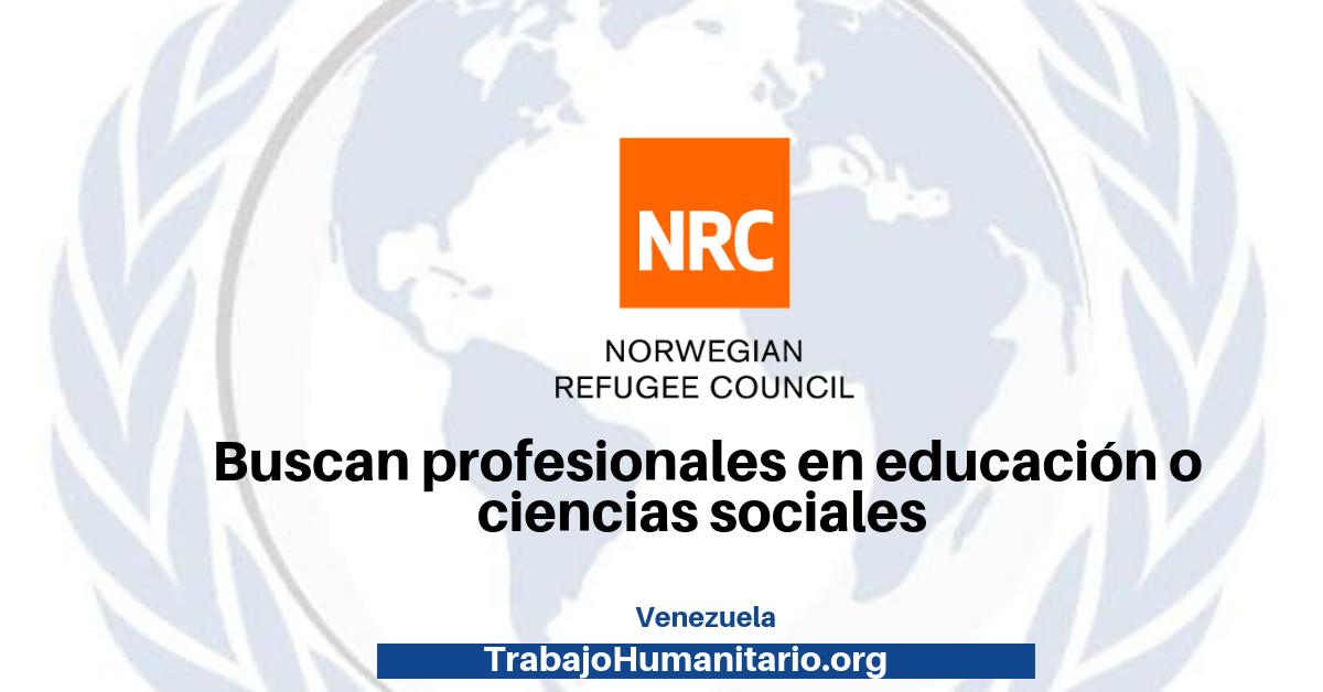 Vacantes disponibles con el NRC