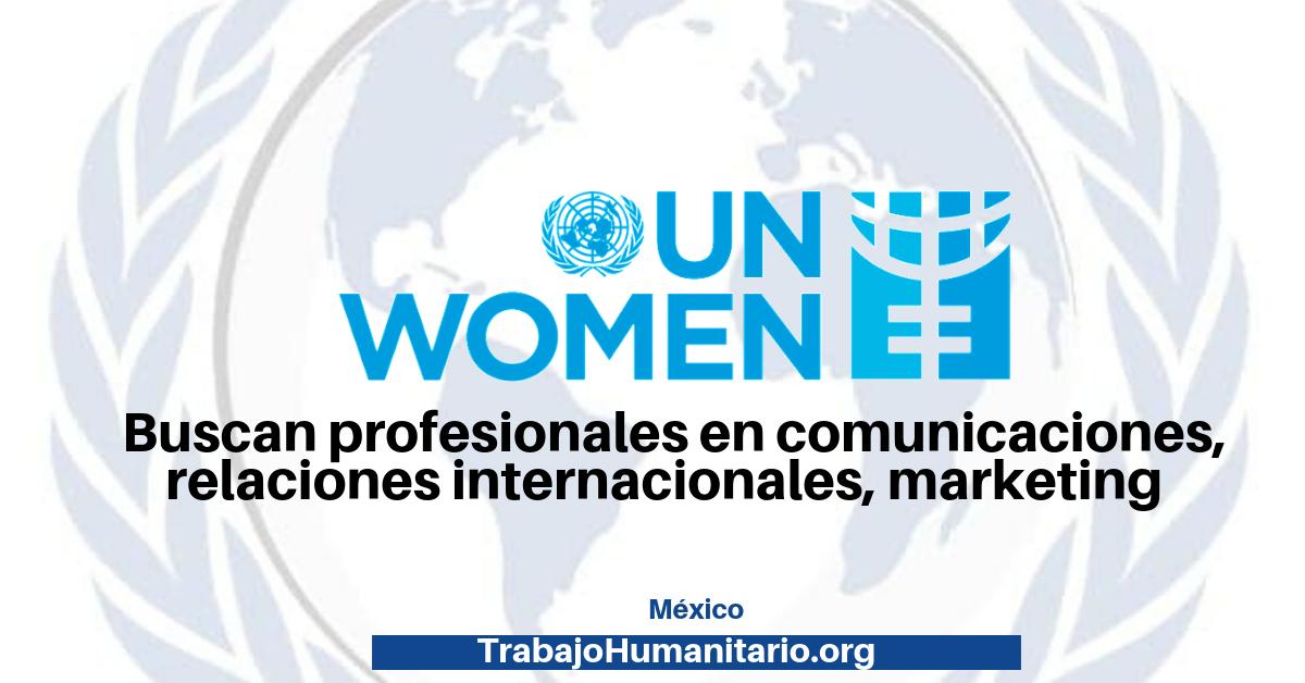 Vacante con ONU Mujeres