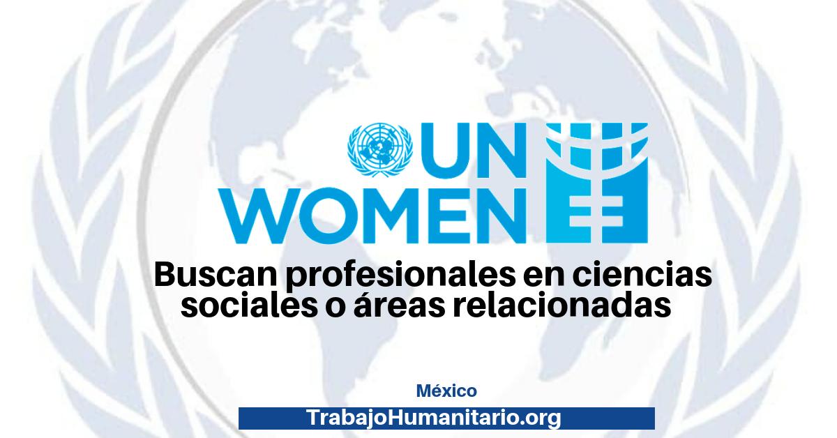 Trabaja con ONU Mujeres