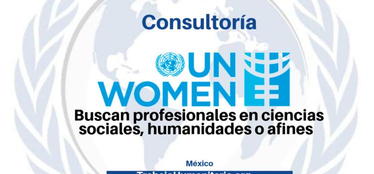 Consultoría con ONU Mujeres