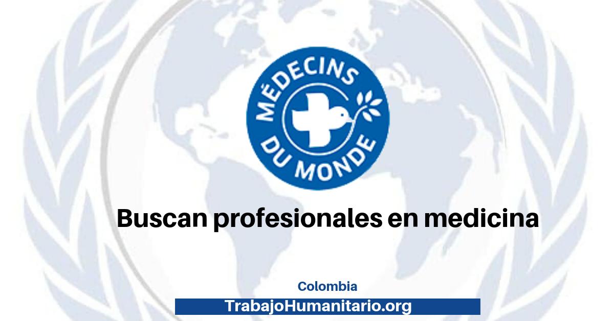Vacante con Médicos del Mundo