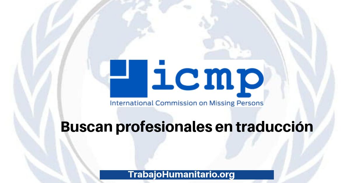 Vacante con la Comisión Internacional sobre Personas Desaparecidas