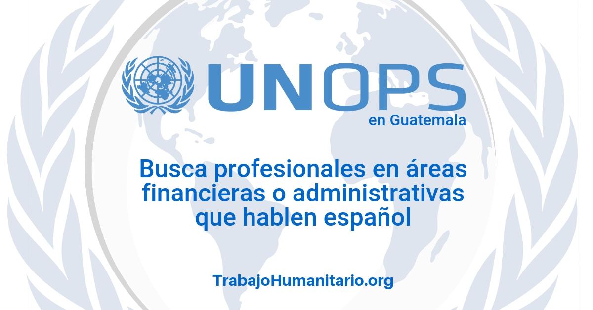 Naciones Unidas – UNOPS busca profesionales financieros