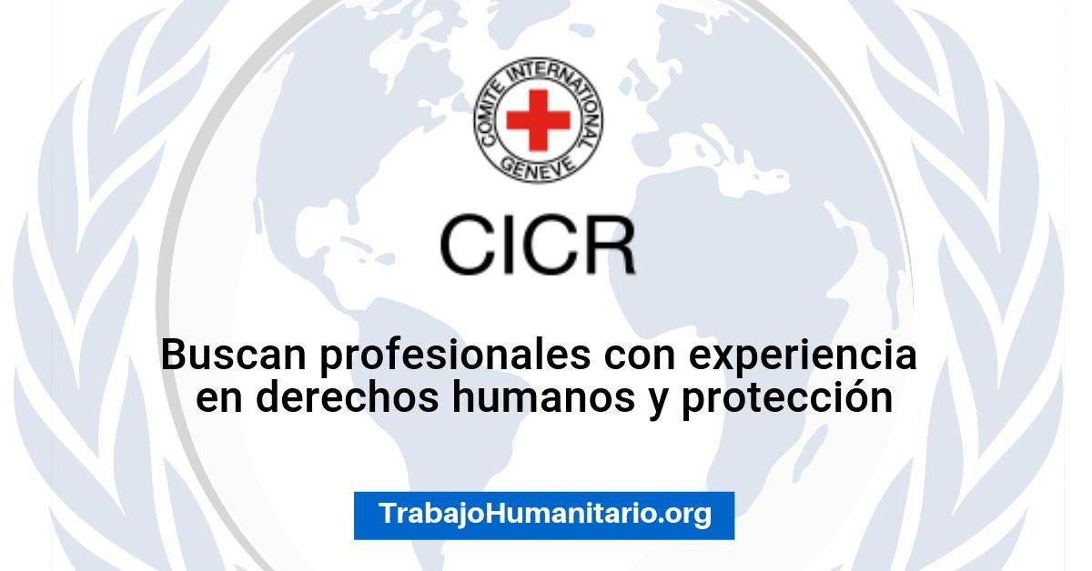 CICR busca profesionales para sus vacantes