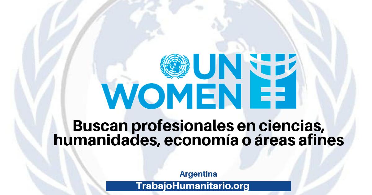 Vacantes con ONU Mujeres