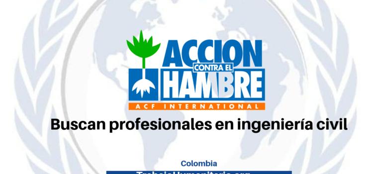 Convocatoria abierta: Profesionales en ingeniería para trabajar con ONG internacional