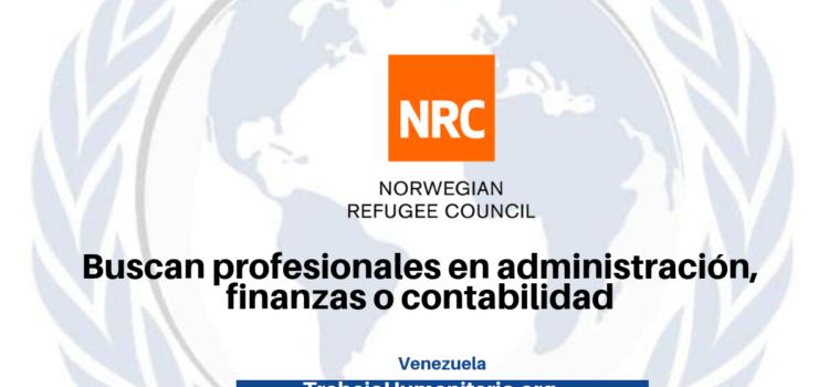 NRC busca profesionales para sus vacantes