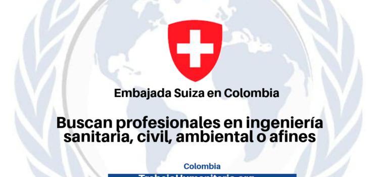 Vacantes con la Embajada de Suiza en Colombia