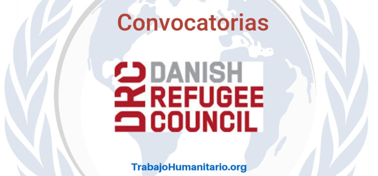 Convocatorias con Danish Refugee Council