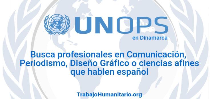 Naciones Unidas – UNOPS busca analista de comunicaciones
