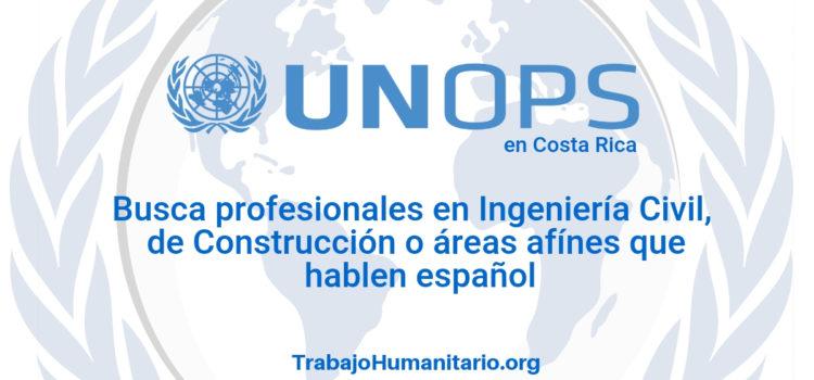 Naciones Unidas – UNOPS busca asistentes de proyecto
