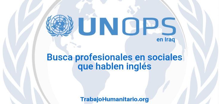 Naciones Unidas – UNOPS busca profesionales en comunicaciones