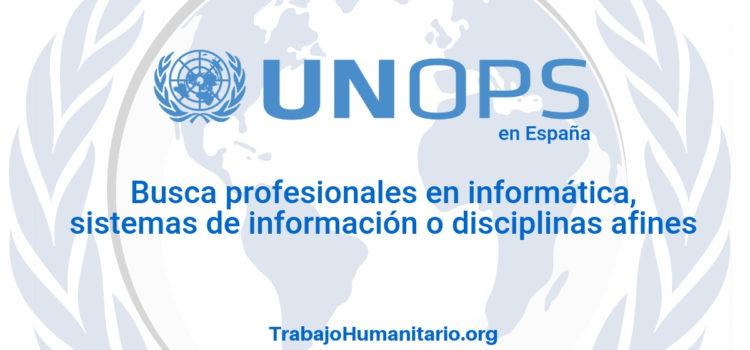 Naciones Unidas – UNOPS busca desarrolladores web