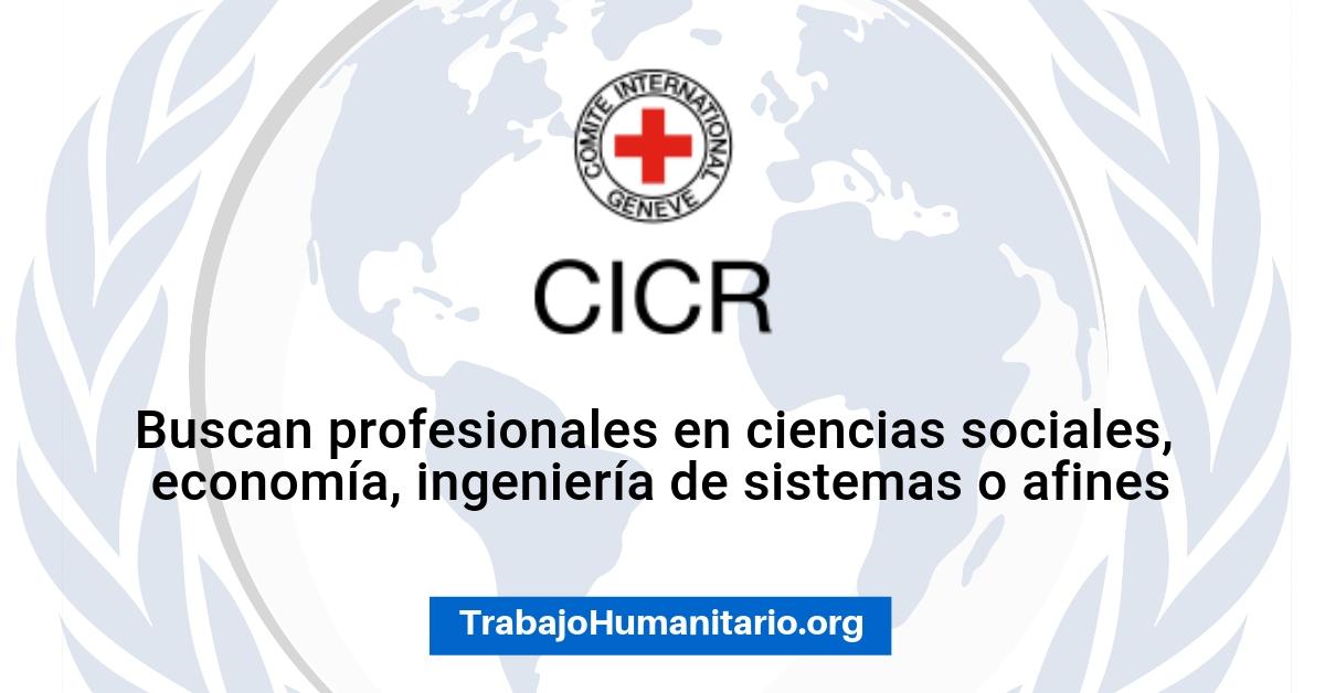 Trabaja con el CICR