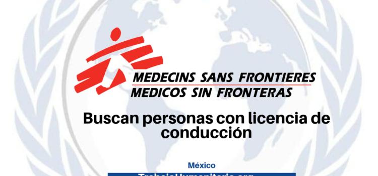 Vacantes con MSF
