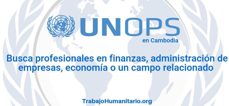Naciones Unidas – UNOPS busca profesionales en ciencias sociales