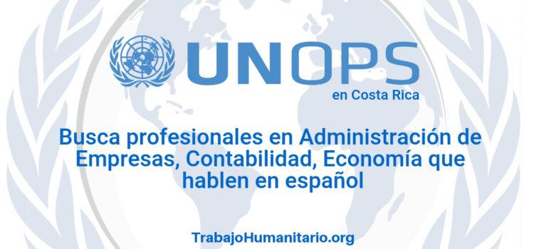 Naciones Unidas – UNOPS busca oficiales de proyecto