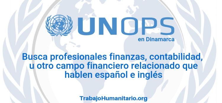 Naciones Unidas – UNOPS busca profesionales en finanzas