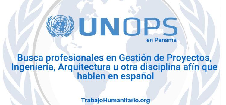 Naciones Unidas – UNOPS busca gerentes de proyecto
