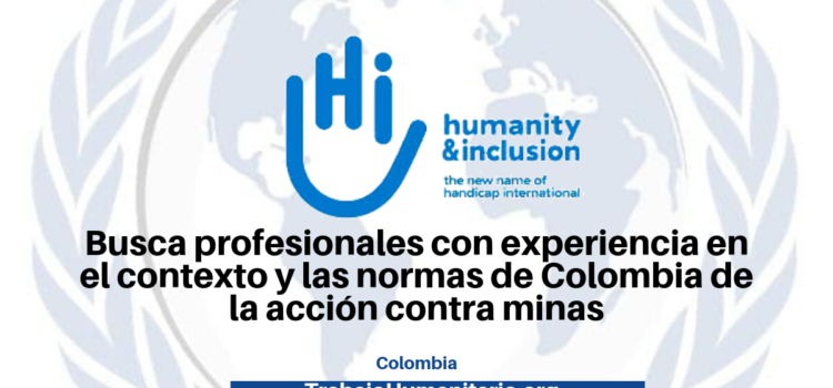 Trabaja con Humanity and inclusion