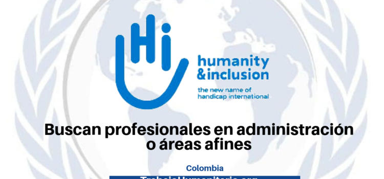 Trabaja en Humanity and Inclusion