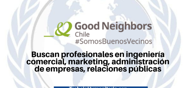 Vacantes en Good Neighbors