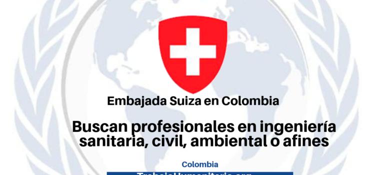 Vacantes con la Embajada Suiza en Colombia