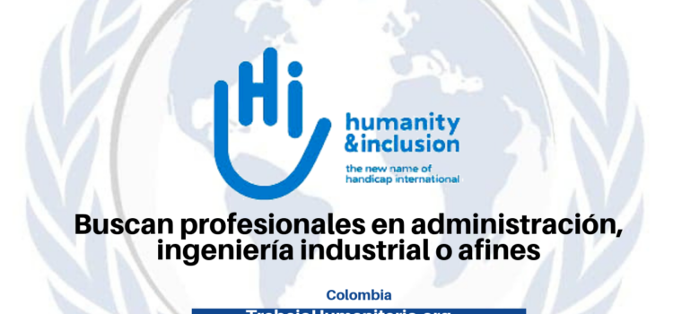 Vincúlate a Humanity and Inclusion